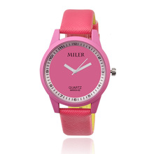 Women s Miler Watch New pu Leather Sports Watches Hot Sale Fashion Ladies Wristwatch saat reloj