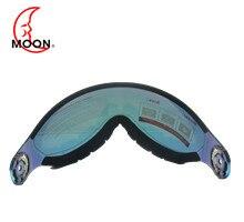 ירח MS95 סקי קסדת Visor חילוף עדשת הגנת UV חיצוני סקי ציוד אבזר עבור סקי העפלה