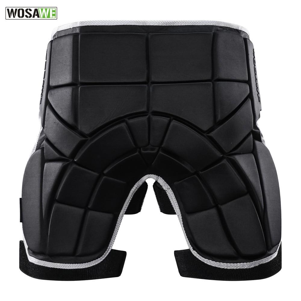 Wosawe motocicleta protector Butt hip pad protección moto seguridad en los deportes de apoyo estera protectora ajustable hombres mujeres pad