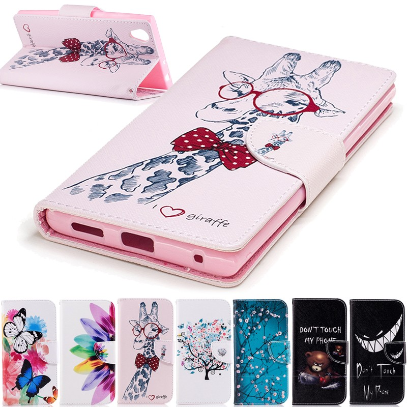 wallet cover cases for sony xperia l1 g3311 g331 flip case soft silicon shell etui coque capa. Black Bedroom Furniture Sets. Home Design Ideas