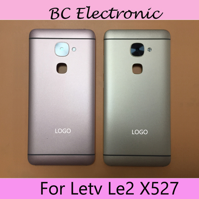 Back Glass Rear Cover For Letv LeEco Le 2 X527 X 527 Battery Door Housing case back cover With camera glass For Letv Le2 X527
