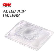 DIY светодиодный объектив для AC светодиодный COB DOB лампы включают: PC объектив+ отражатель+ Силиконовое кольцо крышка лампы Оттенки для Светодиодный светильник для выращивания/прожектор светильник