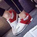 2016 Marca Respirável Dos Homens Sapatos Casuais Moda Masculina Sapatos de Couro Zapatos De Hombre Homens Verão Malha Flats