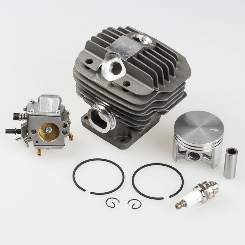 Cylinder Piston Kit +Carburetor Carb +Spark plug for 044 MS440 MS 440 Chainsaw Parts * 1128-020-1201 цены