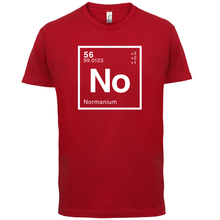 NORMAN Periodic Element - Mens T-Shirt Geeky / Chemistry 13 Colours Short Sleeves O-Neck T Shirt Tops Tshirt Homme