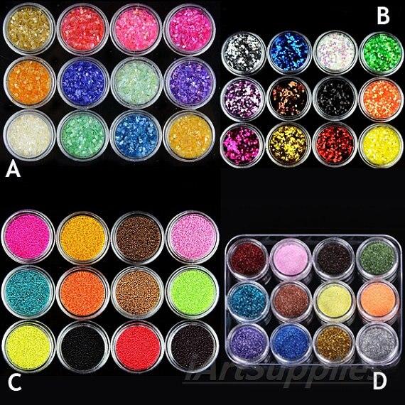72 Flaschen/set Nail Art Glitter Pailletten Pulver Bunte Laser Hexagon Dazzling Nagel Glitter Pulver Für Nail Art Dekoration Schönheit & Gesundheit Nails Art & Werkzeuge