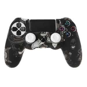 Image 1 - Gamepad Controllerซิลิโคนแขนป้องกัน + 2 Grip CapsสำหรับPS4