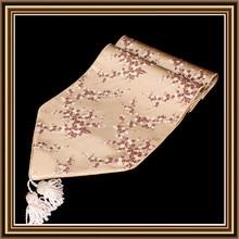 Extra Lange Fashion Luxuriöse Bankett Tischläufer Damast kirschblüten Dekorative Tischdecken Moderne Einfache Bettläufer
