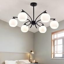 Nordic LED Pendant Lights Acrylic Lampshade Living Room Luminaria Hanging Lamp Kitchen Fixtures Lighting Luminaire