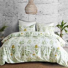 Пасторальный стиль красивые цветы комплект постельного белья