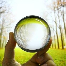 80mm sztuczne szkło jasne kryształowa kula magiczna uzdrowienie kula na całym świecie piłki fotograficzne Craft Decor obiektyw Prop tło kula Ozdobne kule Dom i ogród -
