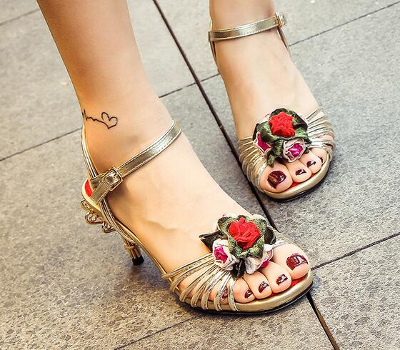 berdecia цветок обувь