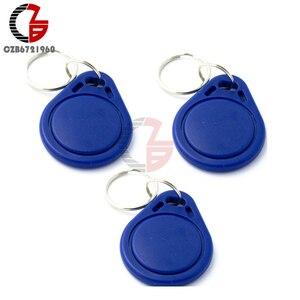 10PCS RFID Proximity IC Key Sensor Switch Tags Keyfobs Token NFC TAG Keychain 13.56MHz for Arduino Access Control Attendance