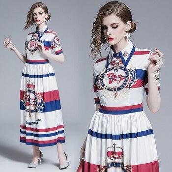 New Women's Clothing Summer Fashion Short Sleeves Dress