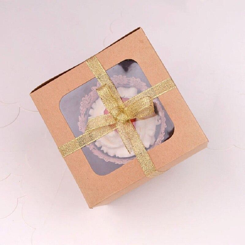 WHISM Kraft Papier Muffin Cupcake Box Süßigkeiten Geschenke Box Keks ...