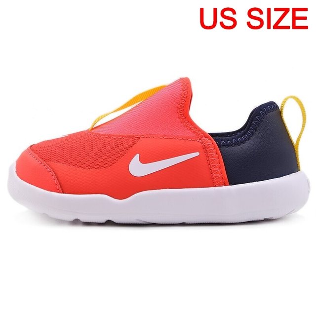 US $50.4 30% OFF|Original New Arrival NIKE LIL SWOOSH (TD) Kids shoes Children Sneakers in Skateboarding Shoes from Sports & Entertainment on