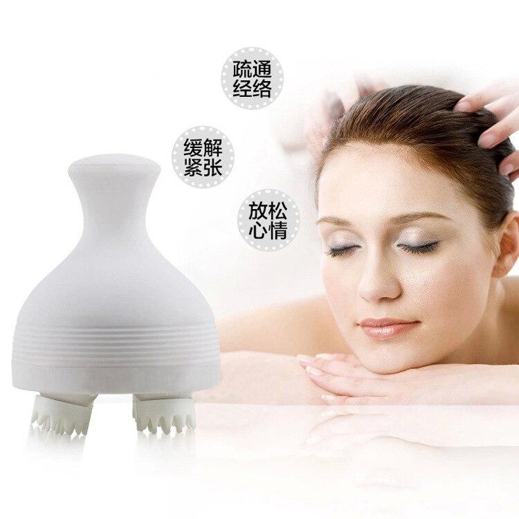 ФОТО Head Massager, Brain Health-care Massage Instrument, Waterproof Electric Scalp Massage Instrument