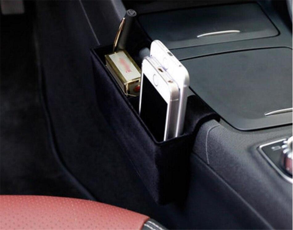 Yimaautotrims Auto accessoire conteneur plateau de support boîte de rangement couvercle Kit pour Mercedes Benz GLA X156 200 220 2015 2016 2017