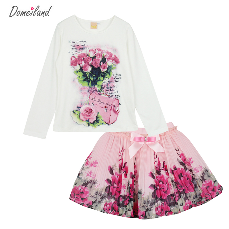 New-Fashion-2017-domeiland-Outfits-Sets-For-Cute-Kids-Girl-Print-Floral-Long-Sleeve-Shirts-TopsTutu-Skirts-Sets-Bow-Clothes-1