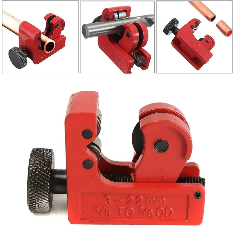 Mainpoint Hot Sale Mini Tube Cutter Slice Copper Aluminum Tubing Pipe Cutting Tool 3-22mm 1/8inch-7/8inch