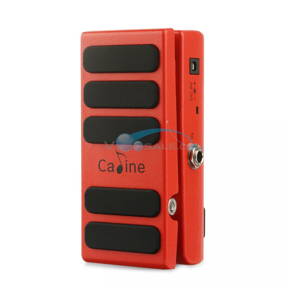 Caline CP-31 Wah Guitar Effect Pedal Red Color Guitar Accessories Wah Pedal Effect Guitar Pedal Parts Only Have Wah FunctionCaline CP-31 Wah Guitar Effect Pedal Red Color Guitar Accessories Wah Pedal Effect Guitar Pedal Parts Only Have Wah Function