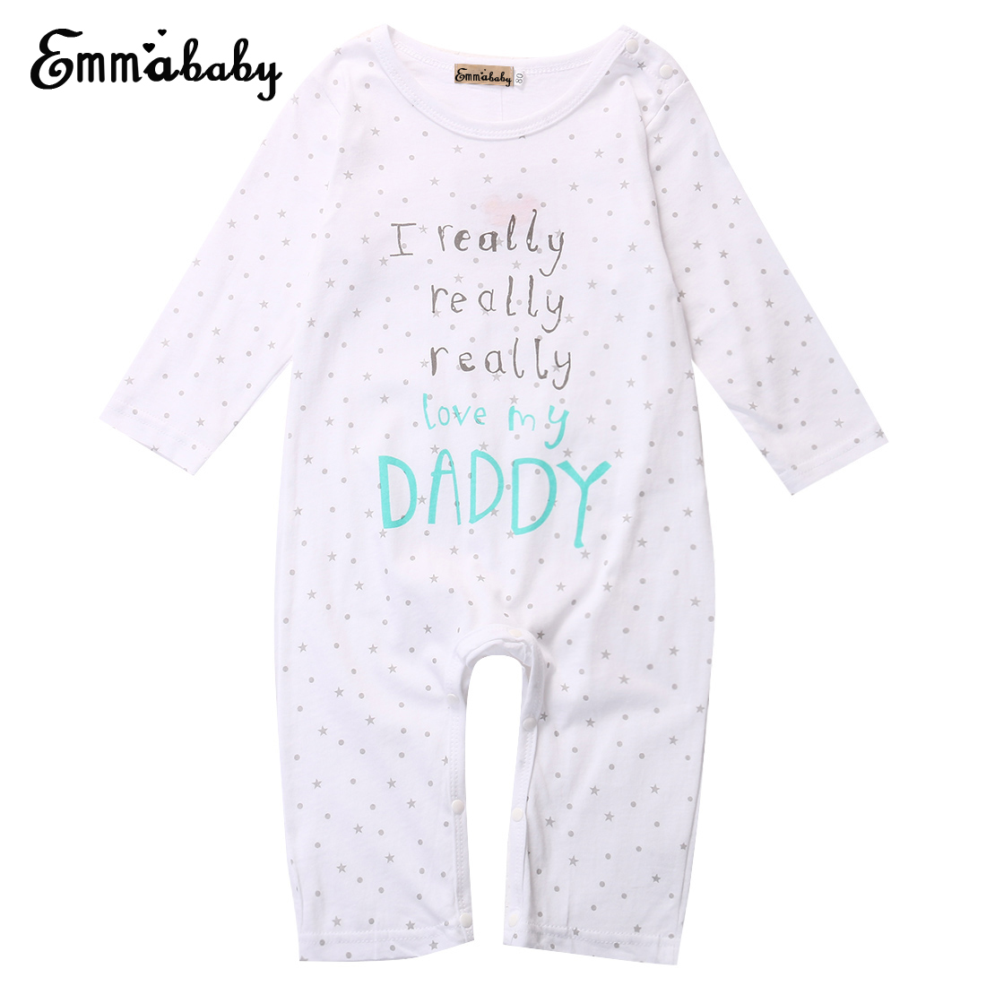 Baby Clothes Baby Rompers I love Mum Dad Newborn Baby Boy Girl 100% Cotton Long Sleeve Letter Print Romper Sleepsuit high quality 100% cotton baby boy girl romper toddler superman rompers newborn cartoon clothes short sleeve for summer bebes