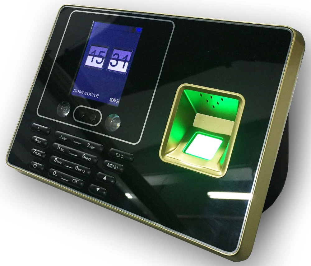 Wireless WIFI BIOMETRIC FACE Recogition Fingerprint Time Attendance TCP/IP 300 User good quality zk biometric face and fingerprint time attendance tcp ip wifi face time clock with keypad employee time attendance
