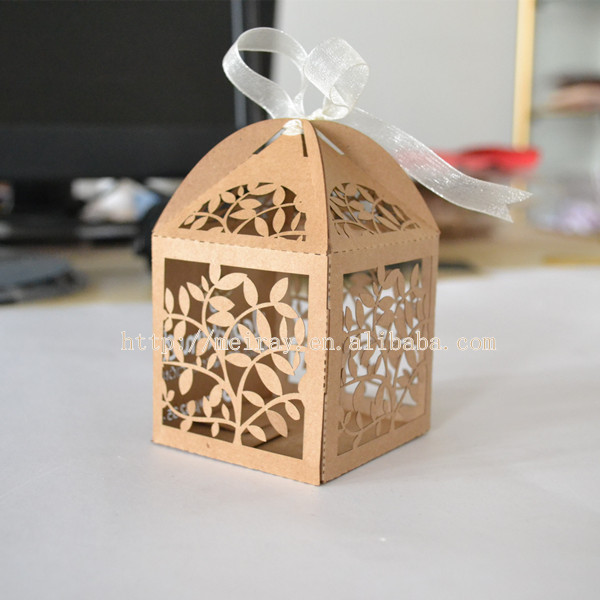 Us 32 0 Laser Cut Wedding Gift Boxes Wedding Souvenirs Gift Bag Cheap Kraft Paper Bag Made In China In Gift Bags Wrapping Supplies From Home