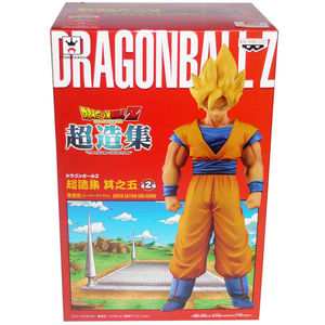 "Image 1 - Japanese Anime ""DRAGONBALL Dragon Ball Z"" Original BANPRESTO Chozousyu Collection Figure Vol.5   Super Saiyan Son Gokou"
