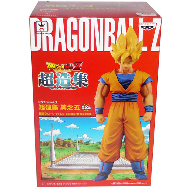"Japanese Anime ""DRAGONBALL Dragon Ball Z"" Original BANPRESTO Chozousyu Collection Figure Vol.5   Super Saiyan Son Gokou"