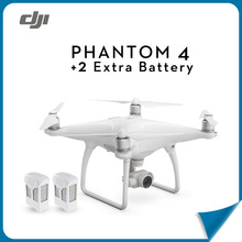 (In Store) DJI Phantom 4 RC Helicopter Drone +2 Extra Battery with 4K HD Camera RC Quadcopter FPV For Photographer
