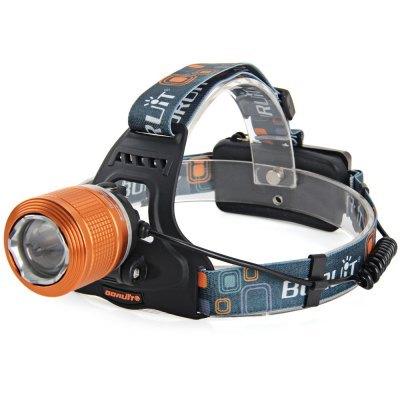 T6 1000Lm Zoom Rotativo LED Farol (3 Modos 2x18650 Bateria) com frete grátis