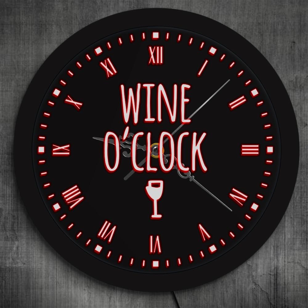 Drink O/'clock Wall Clock Beer O/'clock Man Cave Gift Fun Man Gift For Office Bar