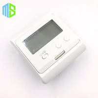 220V 16A LCD Non Programmable Electric Digital Floor Heating Room Air Thermostat Warm Floor Temperature Controller