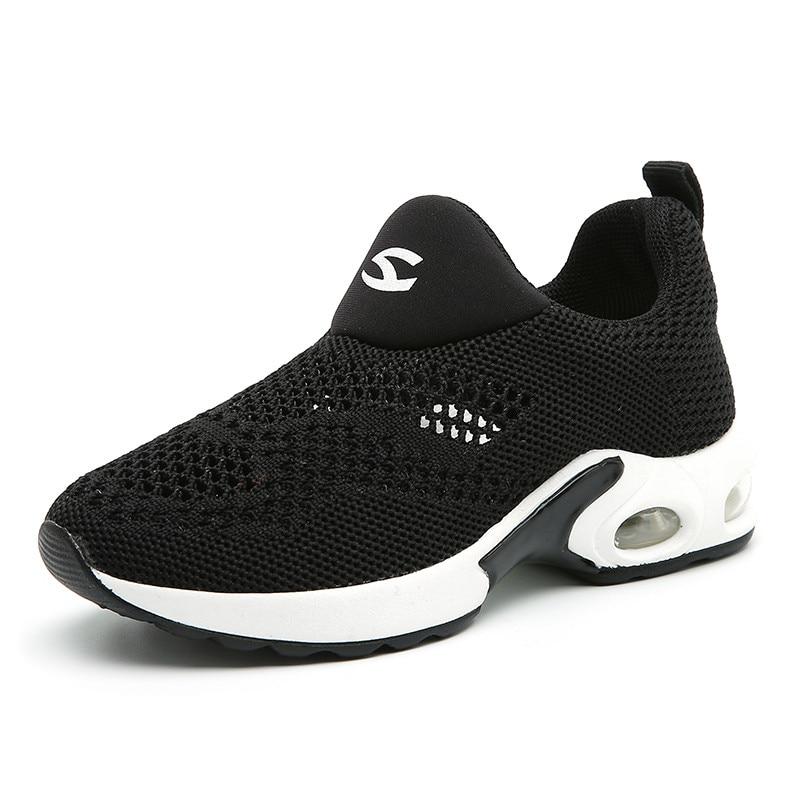 Kinderen Sneakers voor meisjes Jongens schoenen Slip op ademend Mesh - Kinderschoenen - Foto 5