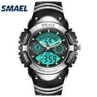 Fashion SMAEL Brand Children Watches LED Digital Quartz Watch Boy Girl Student Multifunctional Waterproof Wristwatches For