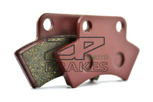 Motorbike Brake Pads Fit Rear APACHE 50 Mini Tomahawk (2T) 2008-2009 OEM New Organic BRAKING