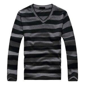 SAF-Fashion Men's Blue-Gray-White Stripe
