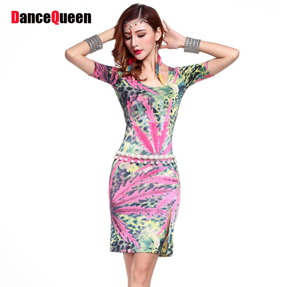 ᗗLatin American Dance Dresses Women Beyonce Costume Ballroom Dance ...