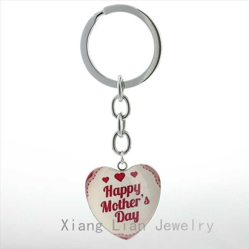 אתה השמש שלי בעולם הטוב ביותר אמא keychain שמח אמא של יום אהבת אמא לב תליון מפתח שרשרת שן הארי חדש נשים מתנה HP191