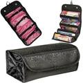 2017 nylon waterproof large-capacity makeup bag fashion cosmetics box box ladies cosmetic bag travel bag cosmetics Bolsas