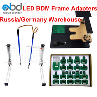 Newly LED BDM Frame For KTAG/K tag KESS BDM Frame Adapter Pin ECU Chip Tuning Tool For K TAG KESS V2 Galleto FGTECH BDM 100