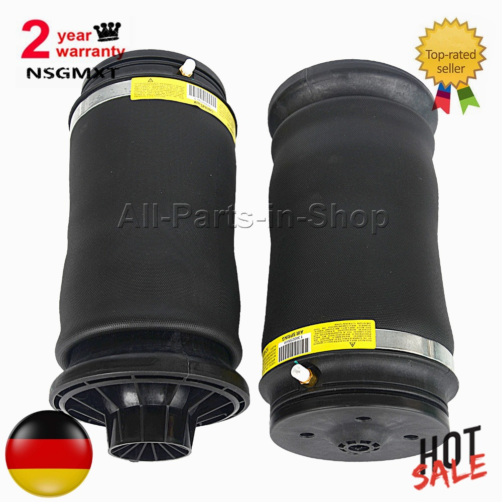 AP01 Pair Rear Air Ride Suspension repair bags for Mercedes GL X164/ML W163 X164 1643200225 1643200425 1643200625 1643200725AP01 Pair Rear Air Ride Suspension repair bags for Mercedes GL X164/ML W163 X164 1643200225 1643200425 1643200625 1643200725