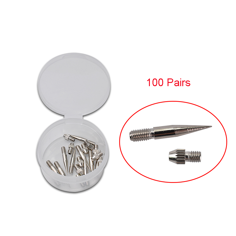 100 Pairs Replaceable Dedicated Needle Cap Thick Needles for Plasma Pen Dot Moles Pen Laser Wart Freckle Tattoo Spot Removal Pen100 Pairs Replaceable Dedicated Needle Cap Thick Needles for Plasma Pen Dot Moles Pen Laser Wart Freckle Tattoo Spot Removal Pen