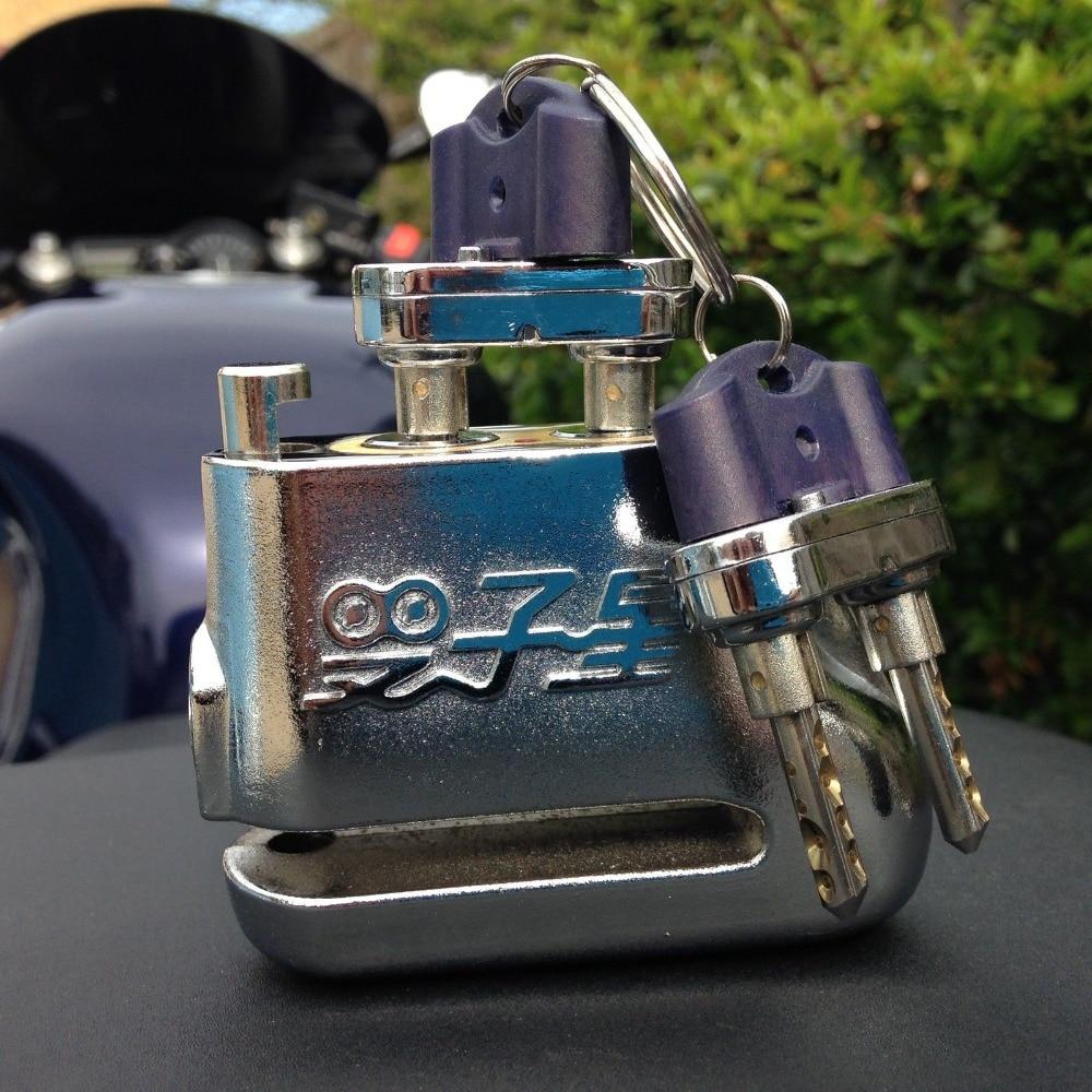 Unpickable Anti-theft motorbike locks Motorbike Disc Lock motorcycle disc lock