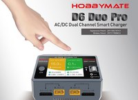 HOBBYMATE D6 Duo PRO Charger AC200W DC650W 15A For 1 6S Lipo Battery w/ Wireless Smartphone Charging
