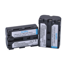2pc 1800mAH NP FM500H NP FM500H FM500H Li ion Rechargeable Camera Battery for Sony Alpha SLT