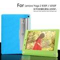 Para lenovo yoga 2 830f/830l 8.0 pulgadas tablet funda de silicona, caso para lenovo yoga 2 1050F/L 10.1 pulgadas sweety silica gel Suave de la contraportada