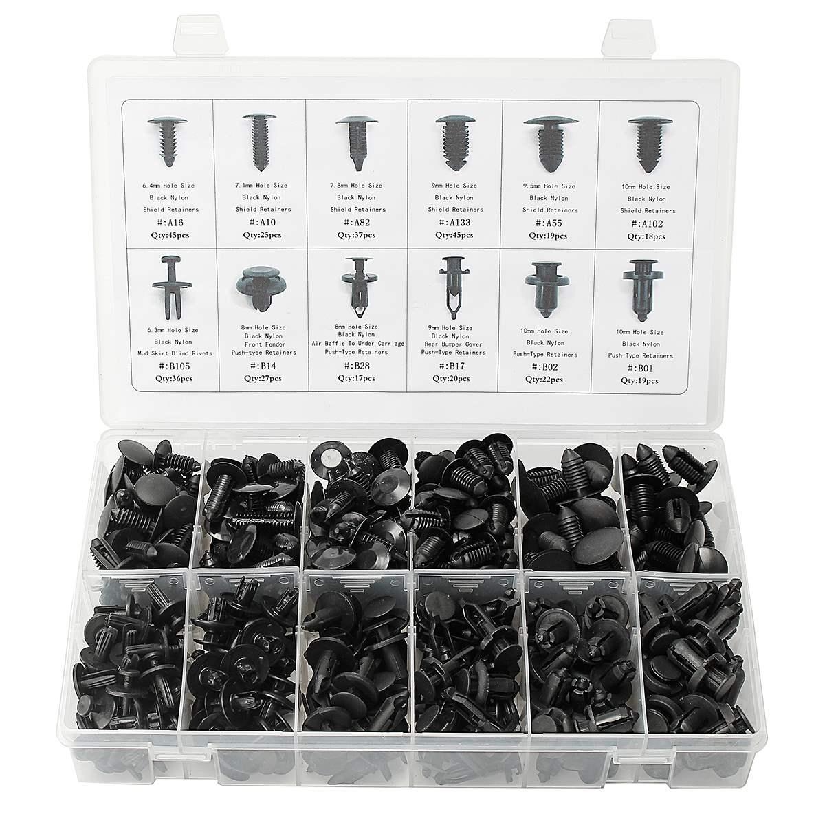 push pin fuse box wiring library330pcs 12 sizes car auto push pin rivet trim clip panel [ 1200 x 1200 Pixel ]