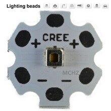 5pcs Samsung 3030 2W PCS Cree XPE XP-E /XTE XT-E/XPG XP-G 3535LED PCB Aluminum board 20mm For DIY LED